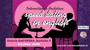 Speed dating in english